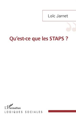 Couverture Qu'est-ce que les STAPS ?