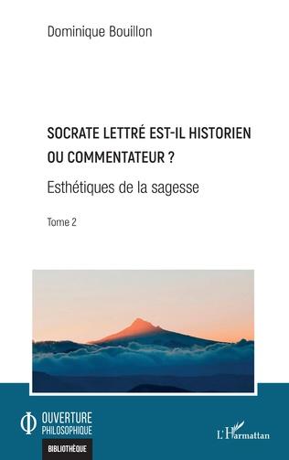 Couverture Socrate lettré est-il historien ou commentateur ?