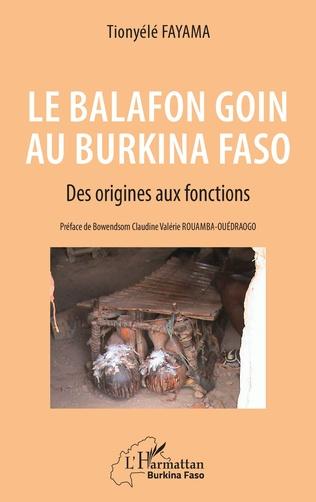 Couverture Le balafon Goin au Burkina Faso