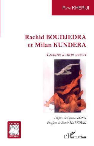Couverture Rachid BOUDJEDRA et Milan KUNDERA