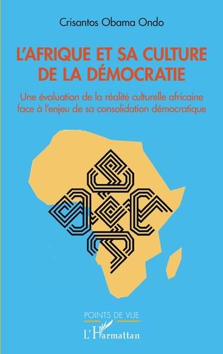 Couverture L'Afrique et sa culture de la démocratie