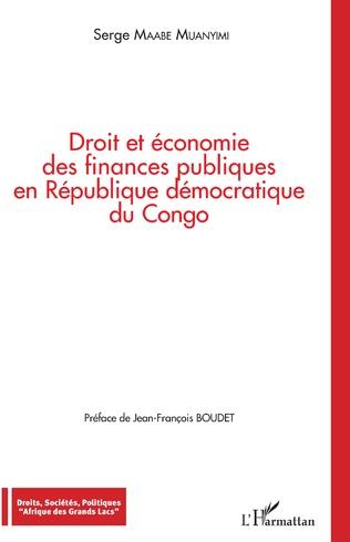 Couverture Droit et économie des finances publiques en République démocratique du Congo