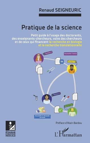 Couverture Pratique de la science
