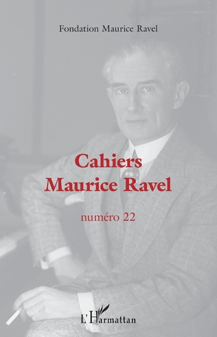 Couverture Cahiers Maurice Ravel