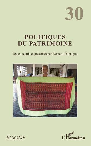 Couverture Politiques du patrimoine
