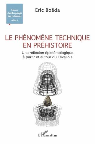 Couverture Le phénomène technique en préhistoire