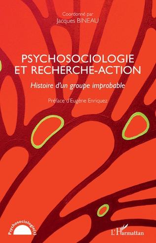 Couverture Pyschosociologie et recherche-action