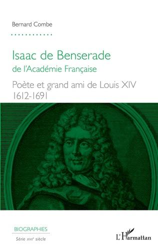Couverture Isaac de Benserade