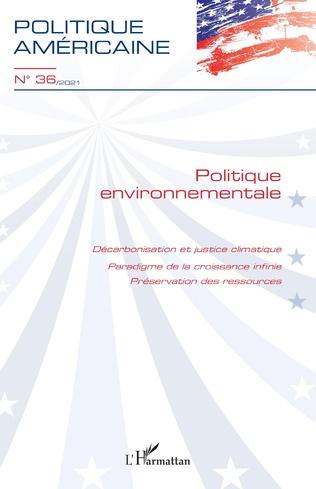 Couverture Politique environnementale