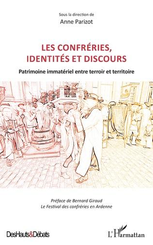Couverture Les confréries, identités et discours