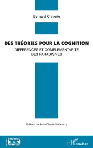Couverture Des théories pour la cognition