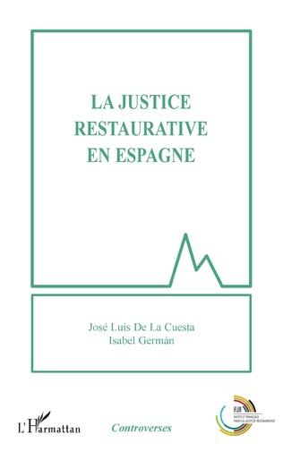 Couverture La justice restaurative en Espagne