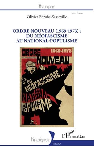 Couverture Ordre nouveau (1969-1973) :