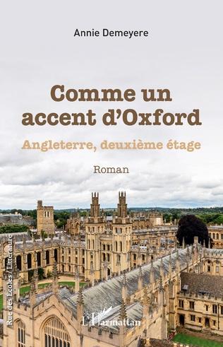 Couverture Comme un accent d'Oxford