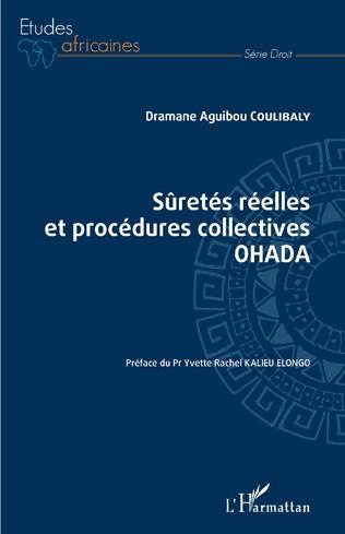 Couverture Sûretés réelles et procédures collectives OHADA