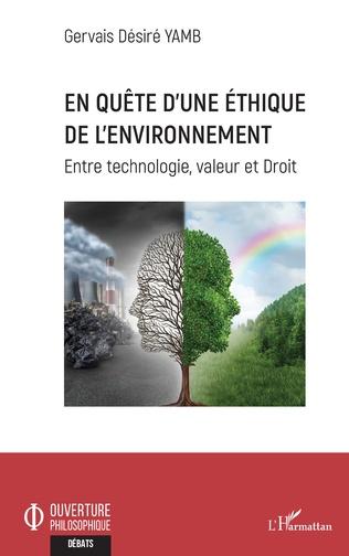 Couverture En quête d'une éthique de l'environnement