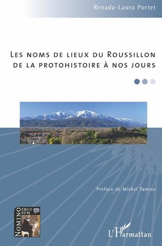 Couverture Les noms de lieux du Roussillon