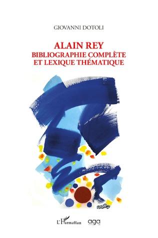 Couverture Alain Rey