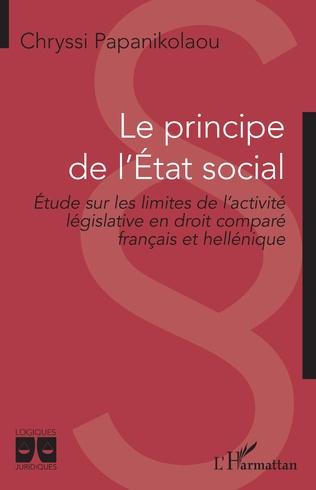 Couverture Le principe de l'Etat social