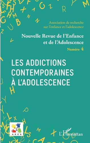 Couverture Les addictions contemporaines à l'adolescence
