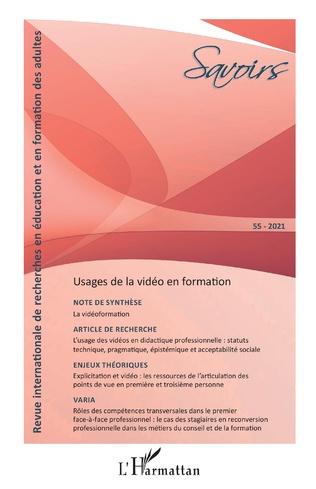 Couverture Usages de la vidéo en formation