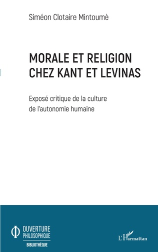 Couverture Morale et religion chez Kant et Levinas