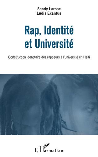 Couverture Rap, Identité et Université