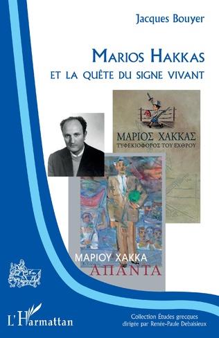 Couverture Marios Hakkas et la quête du signe vivant