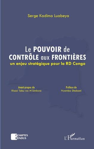 Couverture Le pouvoir de contrôle aux frontières