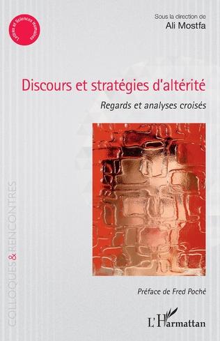 Couverture Discours et stratégies d'altérité