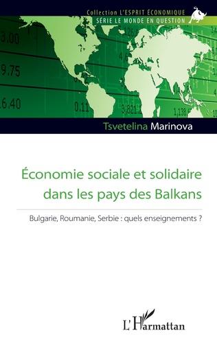 Couverture Economie sociale et solidaire dans les pays des Balkans