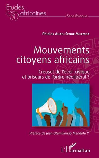 Couverture Mouvements citoyens africains
