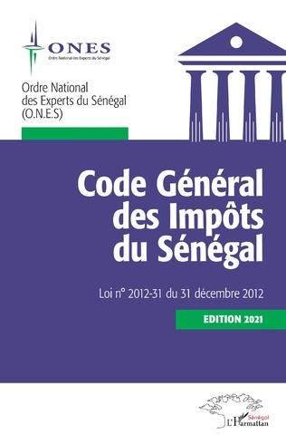 Couverture Code Général des Impôts du Sénégal. Edition 2021