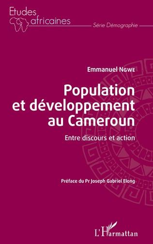 Couverture Population et développement au Cameroun