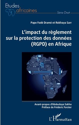 Couverture L'impact du règlement sur la protection des données (RGPD) en Afrique