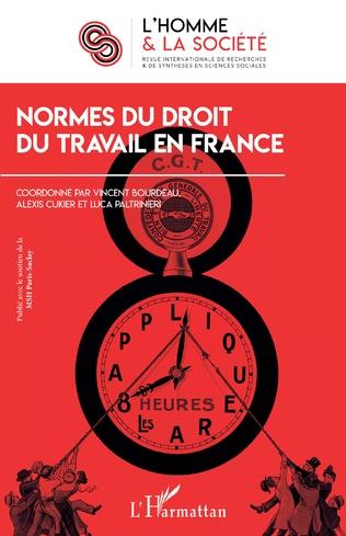 Couverture Normes du droit du travail en France