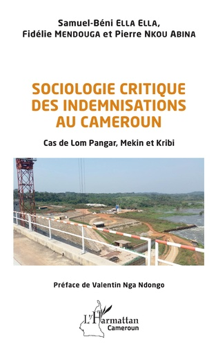 Couverture Sociologie critique des indemnisations au Cameroun