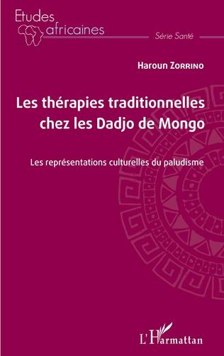 Couverture Les thérapies traditionnelles chez les Dadjo de Mongo