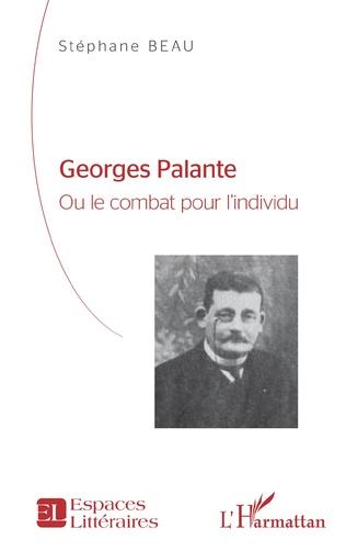 Couverture Georges Palante
