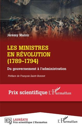 Couverture Les ministres en Révolution