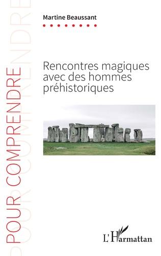 Couverture Rencontres magiques avec des hommes préhistoriques