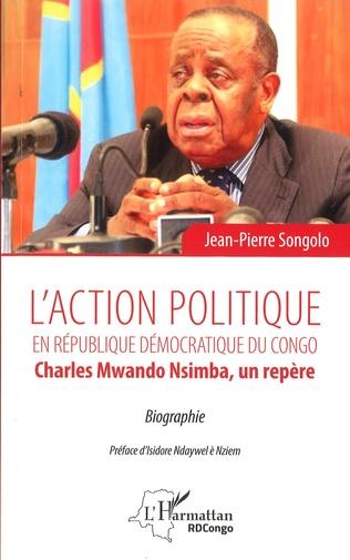 Couverture L'action politique en République démocratique du Congo