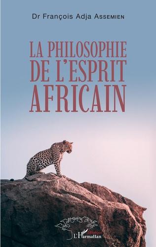 Couverture La philosophie de l'esprit africain
