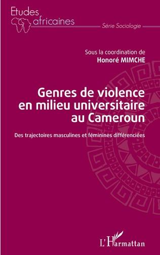 Couverture Genres de violence en milieu universitaire au Cameroun