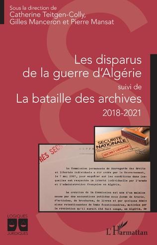 Couverture Les disparus de la guerre d'Algérie