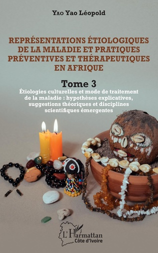 Couverture Représentations étiologiques de la maladie et pratiques préventives et thérapeutiques en Afrique Tome 3