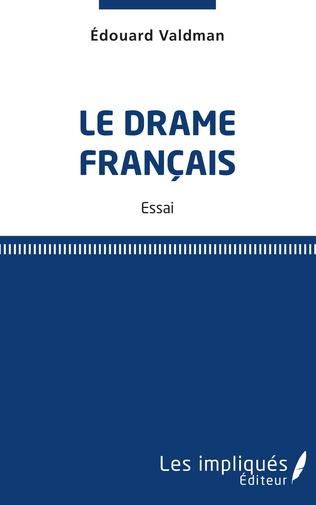Couverture Le drame français
