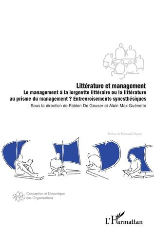 Couverture Littérature et management
