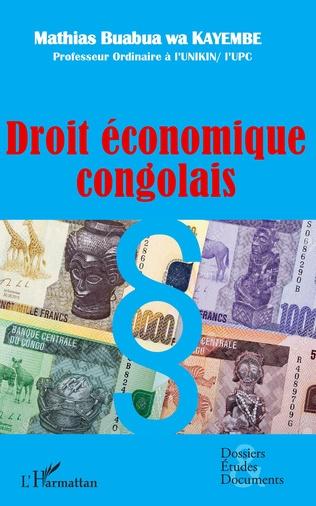 Couverture Droit économique congolais