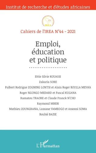 Couverture Emploi, éducation et politique